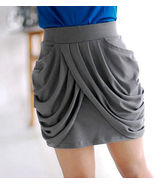 IT Girl. Modern Chic Grey Drapes At Front Mini ... - $48.90