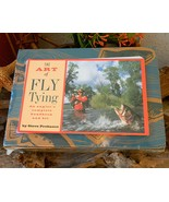 Art of Fly Tying Anglers Complete Handbook Kit ... - $19.95
