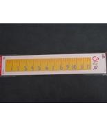 Sizzix Sizzlits strip Ruler new  - $16.99