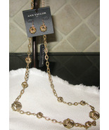 Ann Taylor Demi-parure Necklace Earrings Set NWT - $70.00