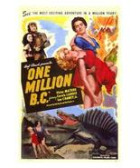 One Million B.C. 1940 DVD - $9.00