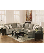 WARREN - 4pcs MODERN GRAY FABRIC SOFA COUCH SEC... - $1,658.72