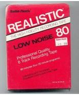8 track recording tape 80 minute Radio Shack Re... - $3.50