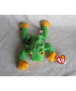 Ty Beanie Babies Baby Smoochy the Frog Retired - $5.00