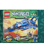 Lego Ninjago Jay&#39;s Storm Fighter 9442 New in Sealed Box Master Spinjitzu