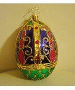 Radko Faberge Egg Ornament Rare Retired  - $115.00