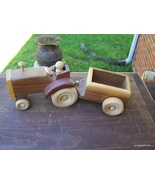 Wooden Tractor and Trailer toy Lot 233 - $35.00