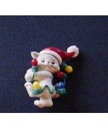 Lot 6 Christmas Jewelry Plastic Pins Earrings C... - $9.99