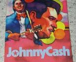 Buy Arts & Entertainment - Johnny Cash Hardbound Book Vintage 1975 Graphic Art Pic
