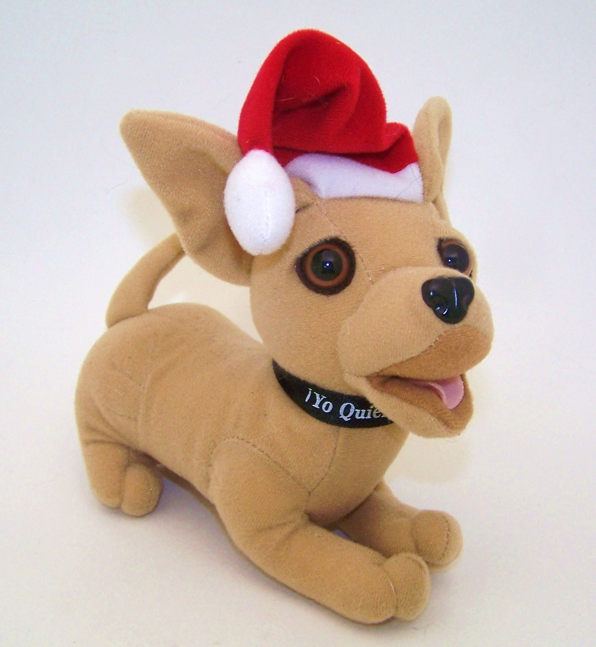 Taco Bell Chihuahua Christmas Dog Plush Stuffed Animal