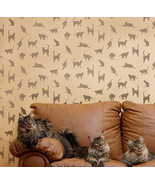 Stencil Pattern Cats,Cats,Cats - Reusable Stenc... - $38.95