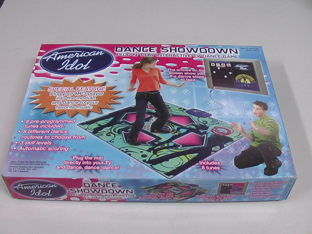 Buy electronic games for adults - Kids Childrens adult dance mat plug and play video game American Idol showdown