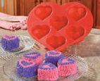 Heart-Shaped Cupcake Mold  Valentine's Day