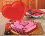 Image 0 of Heart-Shaped Cake Mold  Valentine's Day