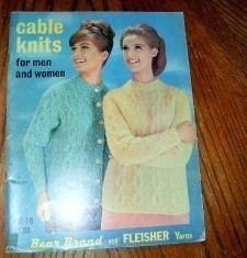 Bernhard Cable Knits for Men and Women Vol 78  1963