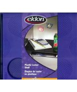 eldon Plastic Locker Zone Shelf Students School... - $7.93