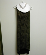 Wet seal black and gold semi formal dress size M - $40.00