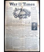 WW2 WAR DEPT TIMES WASHINGTON DC 10-26-45 FINAL... - $7.42