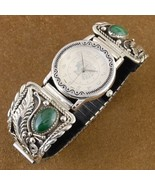 Big Boy Sterling Silver Mens Malachite Handmade... - $316.57