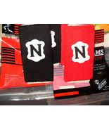 6 inch RED NEUMANN FOOTBALL GLOVE TERRY WRISTB... - $12.43