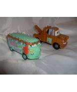 Disney Pixar Cars Plastic Mater Tow Truck and D... - $9.99