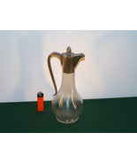 An Antique Silver plated Burgundy Carafe. - $95.00