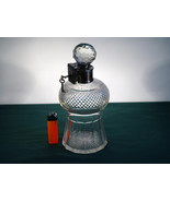 Brandy / Scotch Decanter. Crystal Cut, Plated C... - $115.00