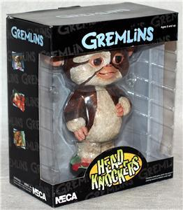 gizmo gremlins bobble head knocker figure nip neca toy open to offers