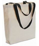 50 Blank TOTE BAGS Totes TEN COLOR HANDLES Crafts - $191.66