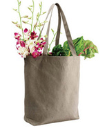 24 RECYCLED Color Cotton TOTE BAGS Craft Supplies - $194.44