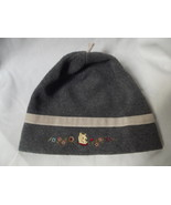Winnie The Pooh Women's Gray Polar Fleece Beani... - $9.00