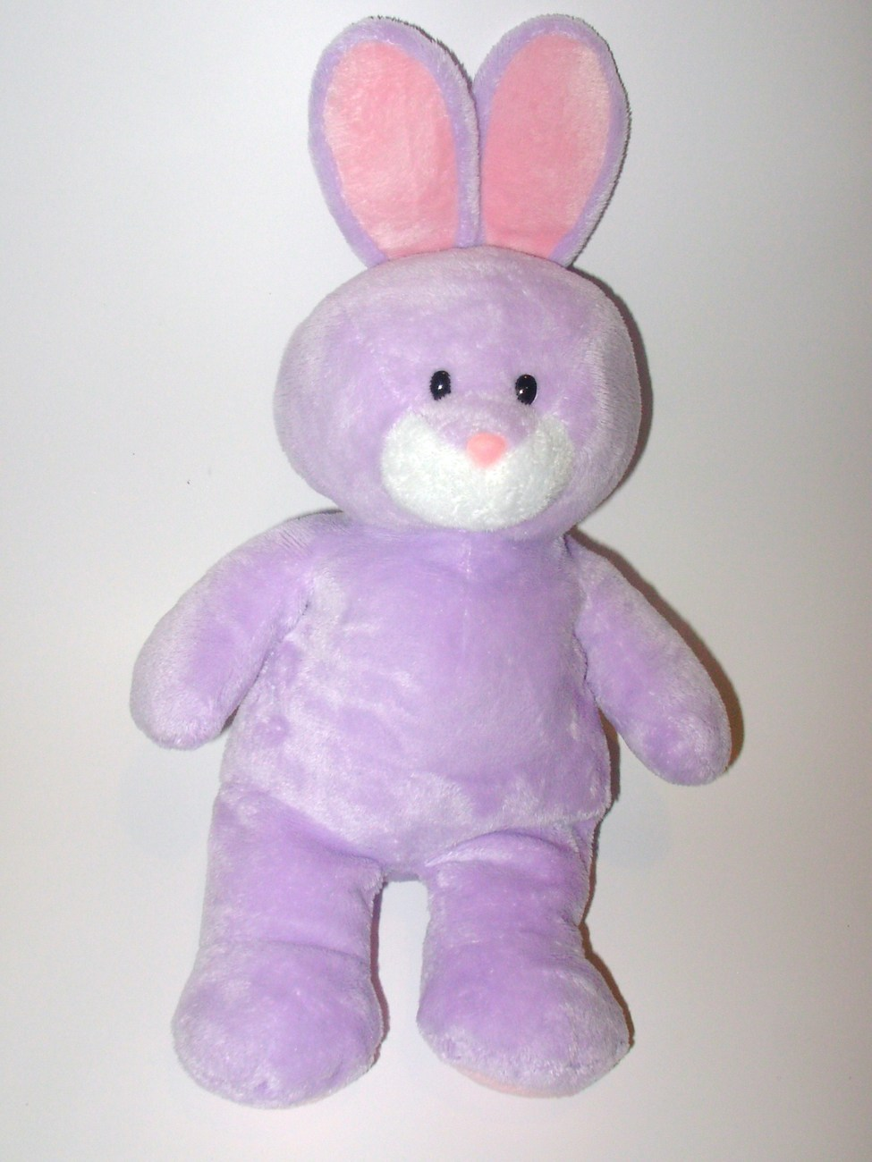 Ty Pluffies Springy Purple Bunny Rabbit Easter Plush Stuffed Animal Toy