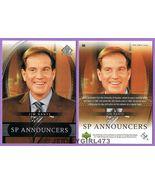 Jim Nantz 2004 Upper Deck SP Announcers Card #60 - $1.00