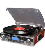 Crosley CR6007A Tech Turntable USB SD Record Player New - $123.95