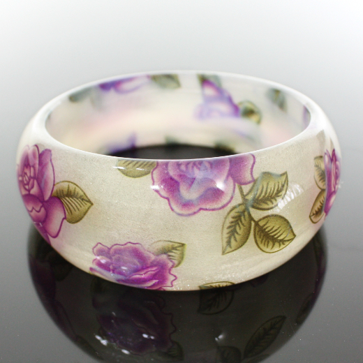 Beige_purple_butterfly_flower_glassbangle