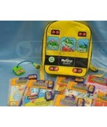 Leapfrog My First Leap Pad Bus Backpack BUNDLE~~LeapPad, 5 Games,Backpack
