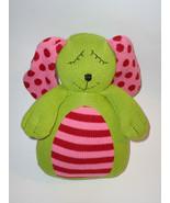 Pottery Barn Kids PBK Bunny Rabbit Green Pink K... - $34.98