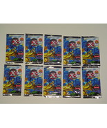 MARVEL CARDS LOT OF 10 PACKS OF 1996 X-MEN TRAD... - $2.50