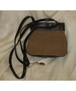 Vintage Liz Claiborne brown/beige Handbag Purse Leather Like - $9.99
