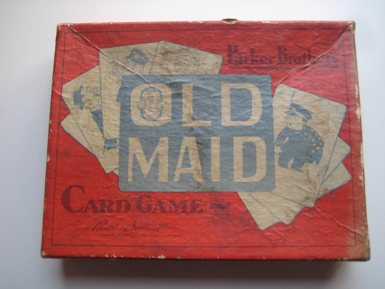 Collectibles: Vintage Card Game: Old Maid, Parker Bros