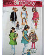 Simplicity 8568 Vintage 60s Pattern Girls size ... - $9.95