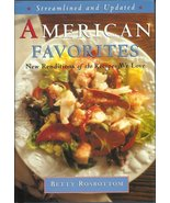 American Favorites by Betty Rosbottom Cookbook - $8.00