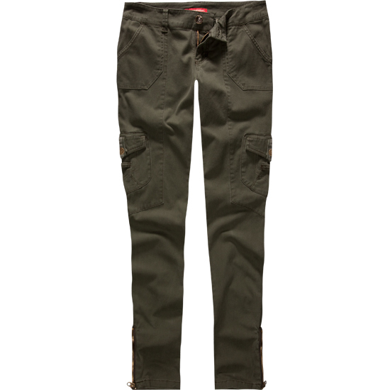 Model Ladies Womens Army Military Green Camouflage Cargo Pants Jeans Combat