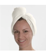 Aquis Diva Dryer Hair Turban (White) - Microfiber - $15.00