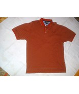 Mens Tommy Hilfiger Golf Polo Shirt Red & Gray ... - $15.99