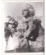 Jean Harlow Portrait Vintage Photo Glamor - $9.99