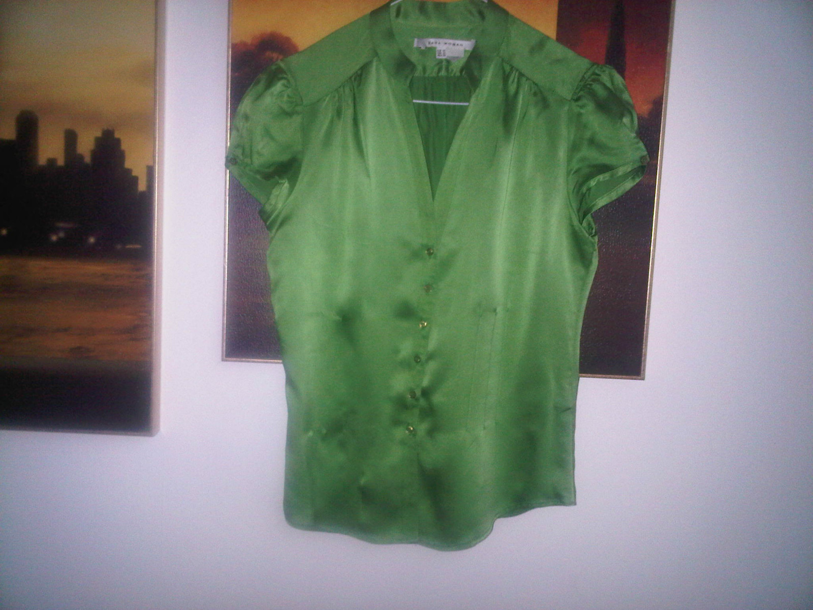 Zara Silk Blouse Uk 118