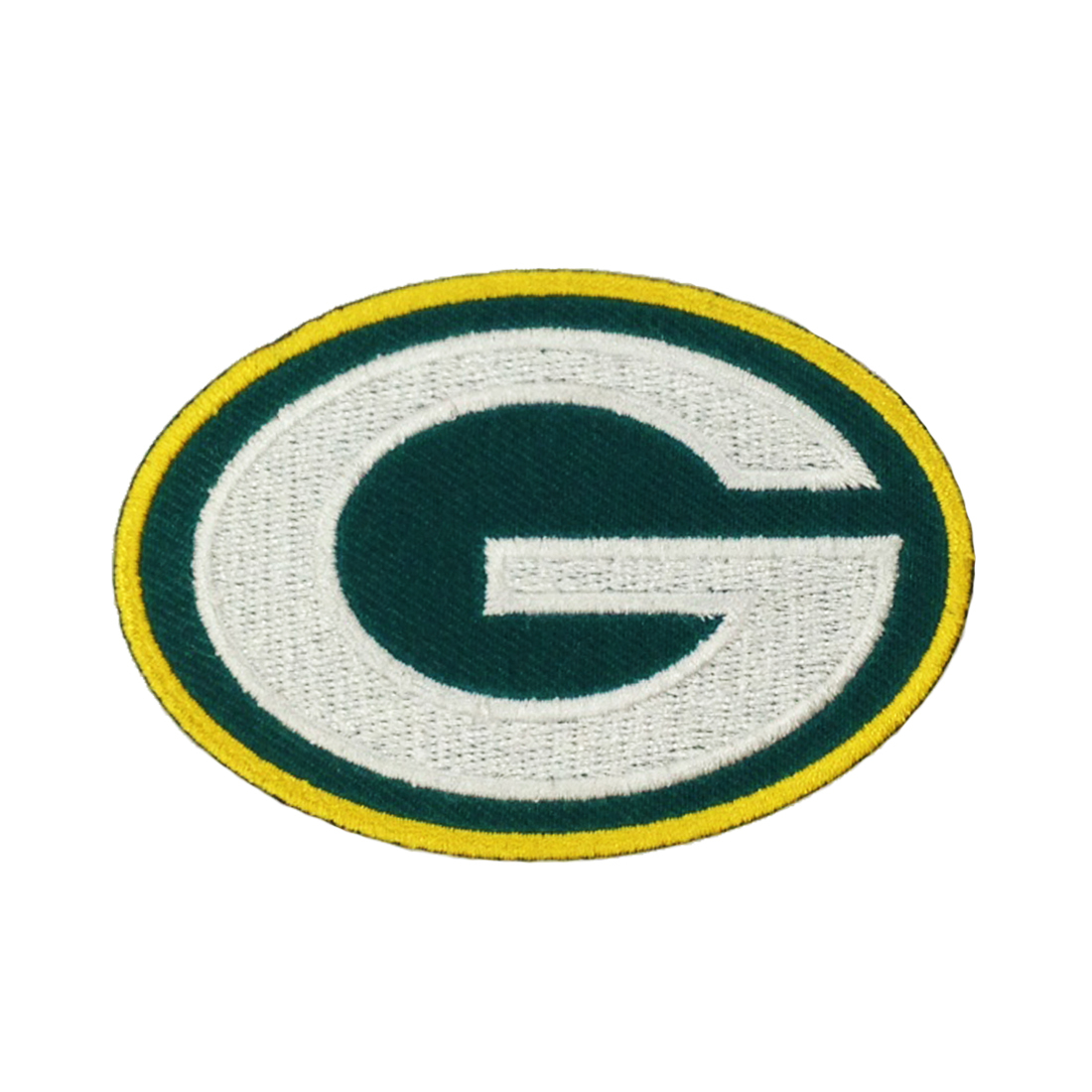 Green Bay Packers logo emblem embroidered Iron On Patch