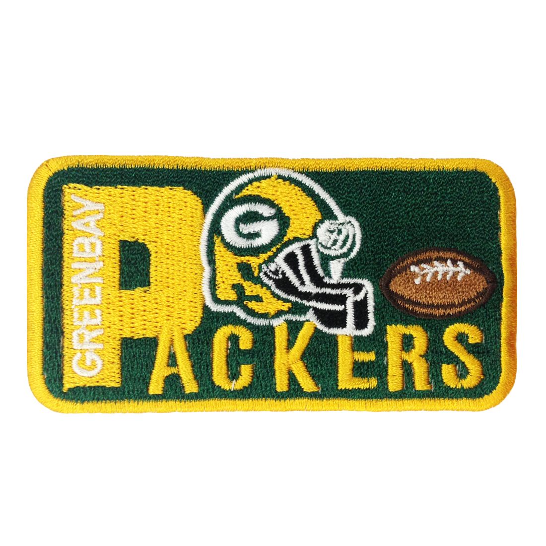 Green bay packers iron on logo patches