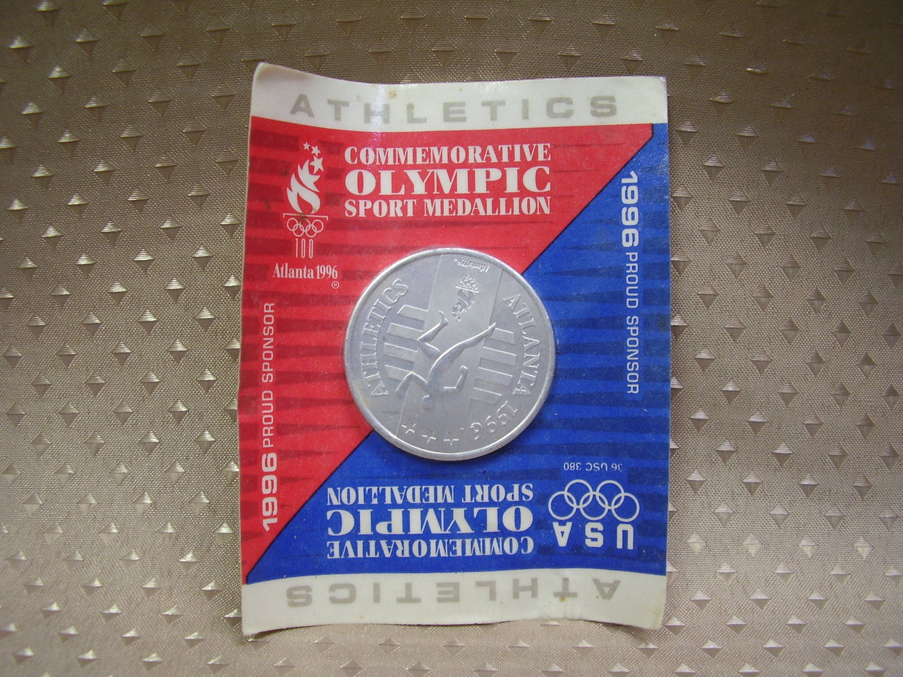 Commemorative 1996-Atlanta Olympic Sport Medallion - sealed